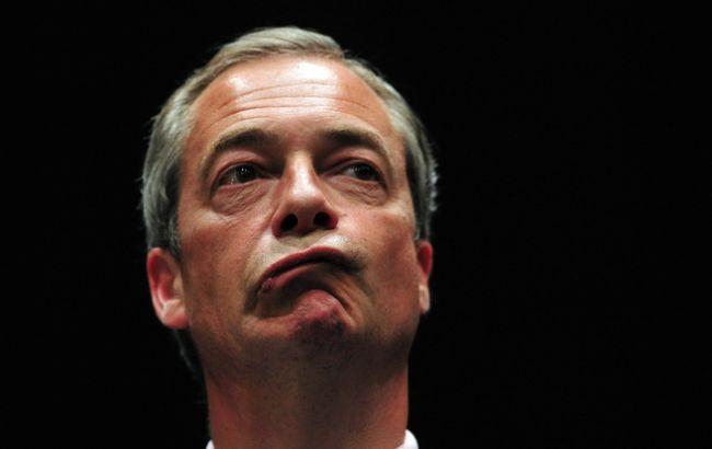 Фото: Найджел Фарадж йде з Партії незалежності Британії