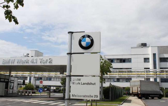 В Германии загорелся завод BMW в Баварии