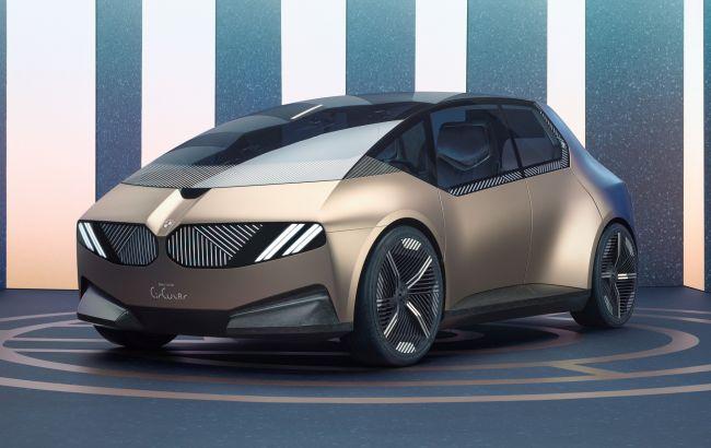 BMW из мусора: компания показала электромобиль i Vision Circular, на 30% собранный из отходов