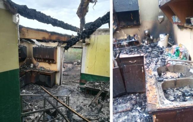 На Закарпатті згорів ромський дитячий садок