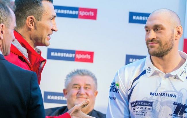 Владимир Кличко: реванш сТайсоном Фьюри будет важнейшим боем вкарьере
