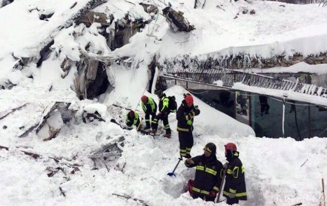 Лавина в Італії: кількість жертв зросла до 24
