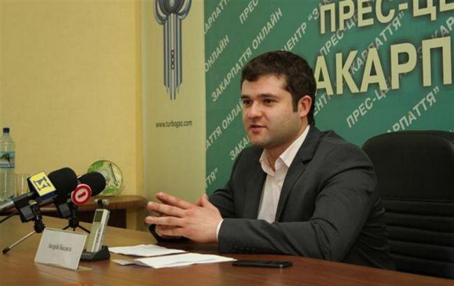 Син Балоги йде в мери Мукачева