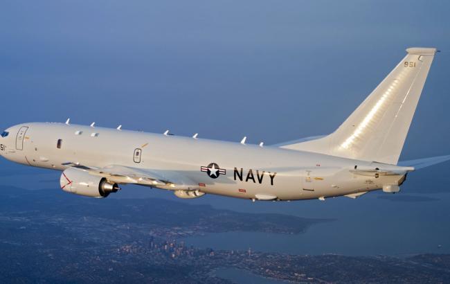 Самолет ВМС США совершил разведывательный полет над Крымом