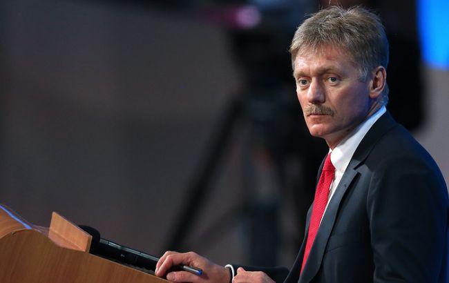 Фото: прес-секретар президента РФ Дмитро Пєсков