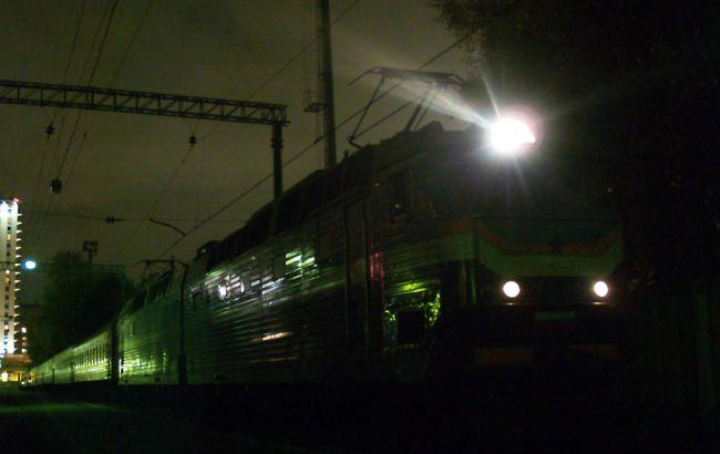 Фото: потяг зійшов з рейок у Львівській області близько 23.00 27 листопада