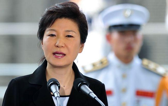 Фото: президент Южной Кореи Пак Кын Хе