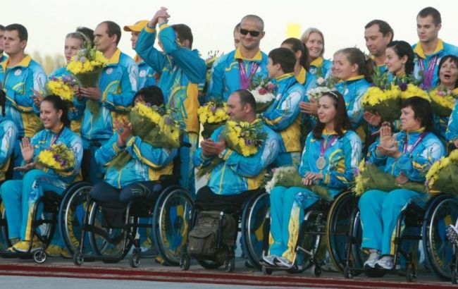 Фото: украинцы на Паралимпиаде в Рио