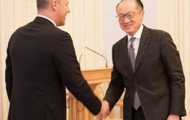 Фото: Парубий встретился с президентом Всемирного банка (rada.gov.ua)