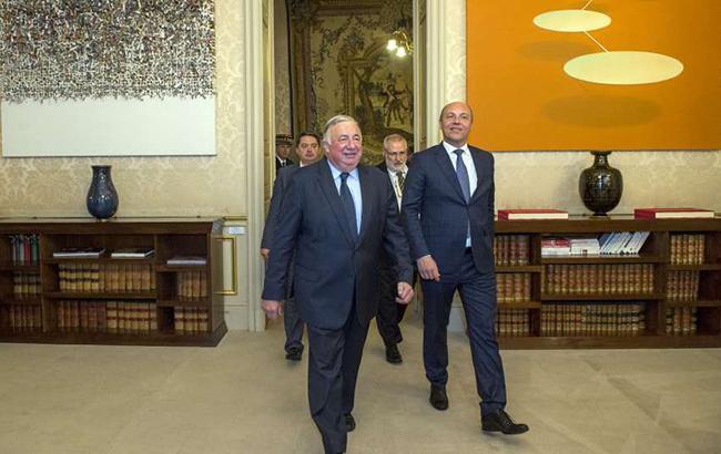 Украина и Франция заявили о необходимости усиления межпарламентского сотрудничества