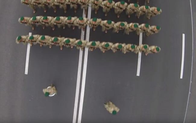 Репетиція параду Незалежності