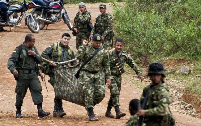 Фото: повстанці FARC