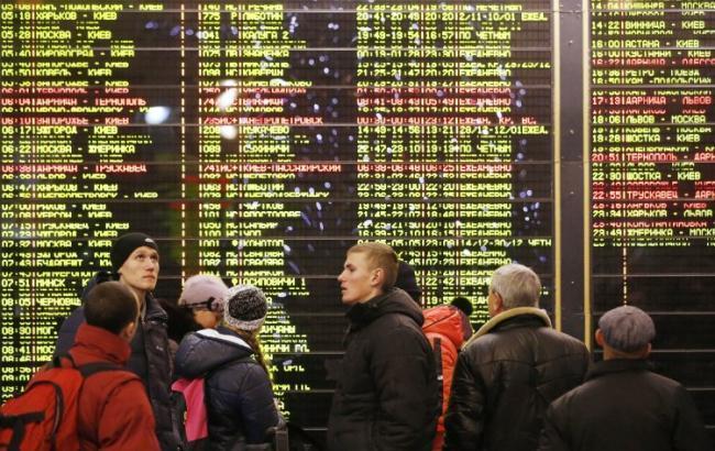В Украине за 11 месяцев пассажироперевозки увеличились на 0,4%