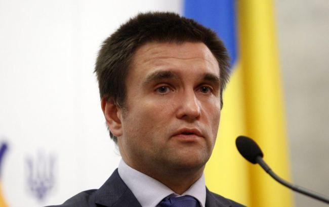 """Клімкін вважає """"безглуздим"""" покрокове скасування санкцій проти Росії"""