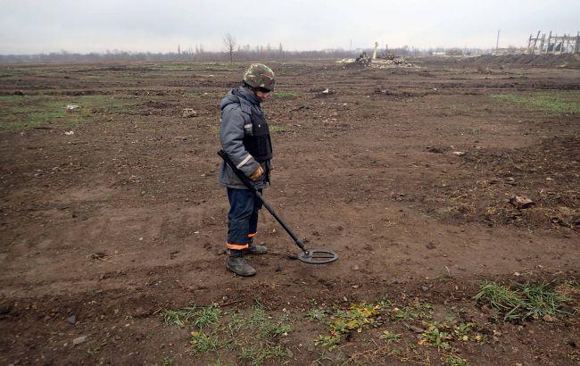 ДСНС вилучила понад 3,3 тис. вибухонебезпечних предметів при розмінуванні у Калинівці