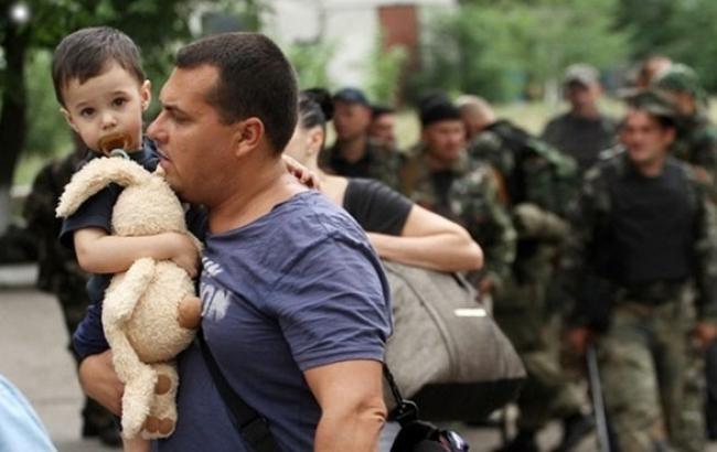 Фото: Переселенцам из Луганска будет некуда возвращаться (twitter.com)