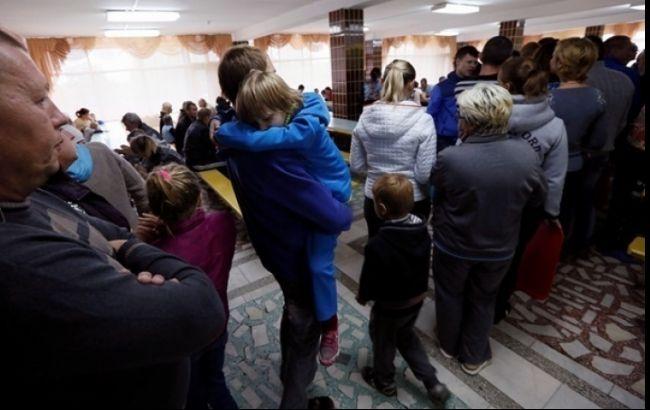 Фото: переселенці з Донбасу