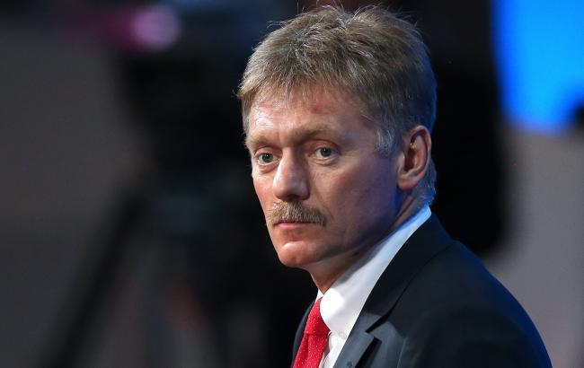 Фото: Дмитро Пєсков прокоментував затримання Сущенко в Москві