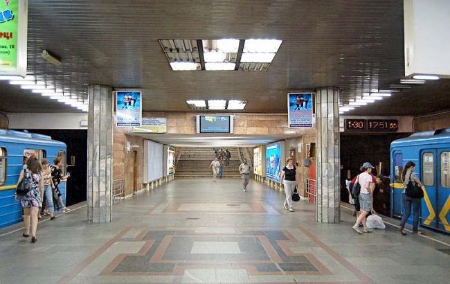 ВКиеве из-за угрозы взрыва была закрыта станция метро «Петровка»