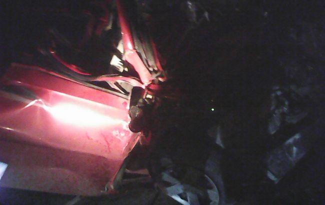 Фото: деблокирование жертв аварии