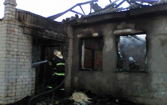 ВЗапорожской области напожаре частного дома погибла женщина