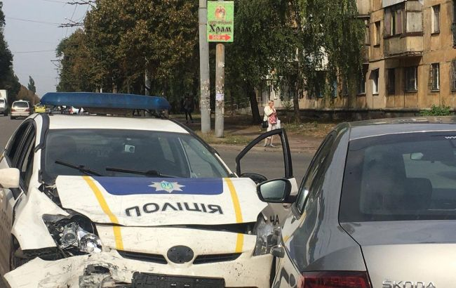 У Кривому Розі сталося масштабне ДТП за участю поліцейських