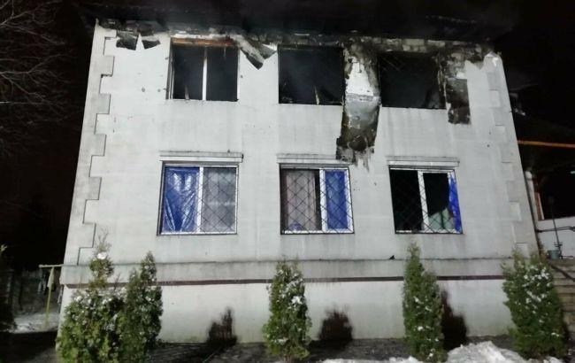 Пожар в Харькове: владельца и заведующего дома престарелых доставили в полицию