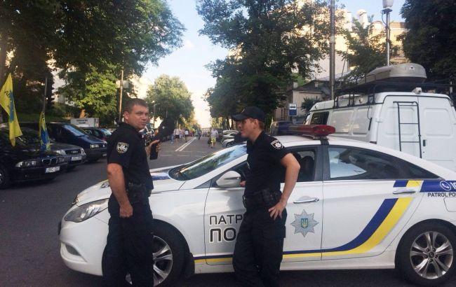 Фото: протест під Радою (РБК-Україна)
