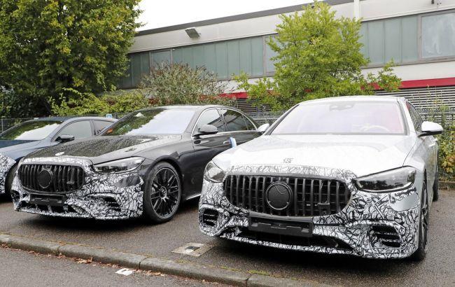 У камуфляжі з картону: новий плагін-гібрид Mercedes-AMG S63 помічений на Нюрбургрингу