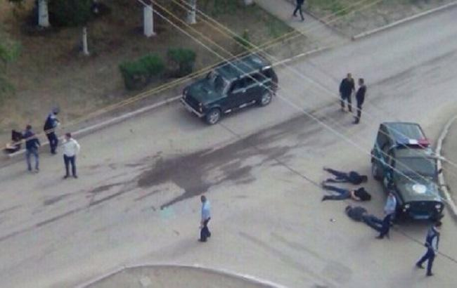 Фото: перестрелка в Актобе
