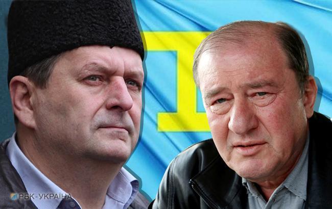Фото: Ахтем Чийгоз и Ильми Умеров (коллаж РБК-Украина)
