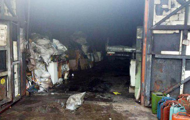 Фото: пожар в Мариуполе (dn.npu.gov.ua)