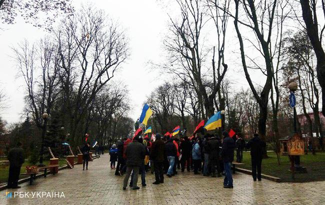 Фото: марш за импичмент в Киеве (РБК-Украина)