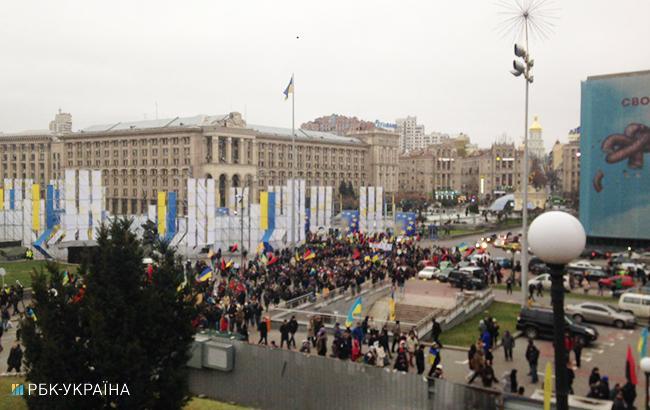 Фото: марш (Олег Грищак, РБК-Україна)