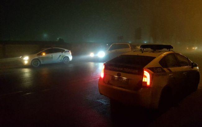 Фото: полиция на месте ДТП (0512.com.ua)