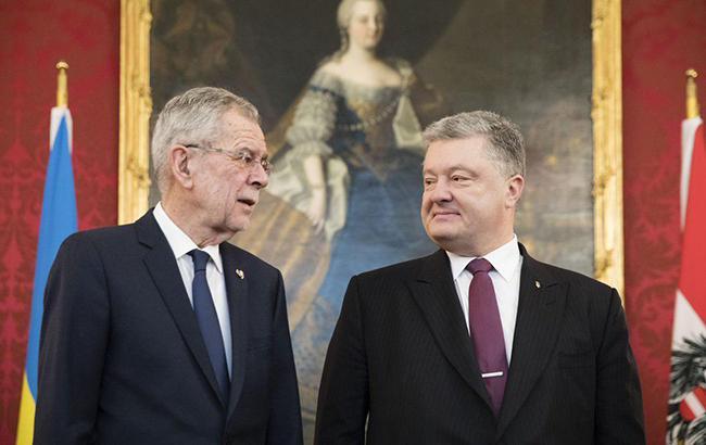 Порошенко договорился с президентом Австрии провести совместный бизнес-форум
