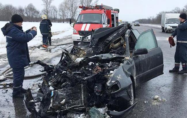 У Харківській області у результаті ДТП загинули 4 людини