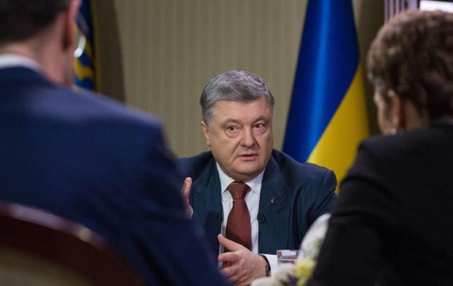 Порошенко: Євросоюзу пора сприяти наданню летальної зброї Україні