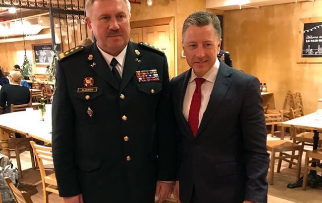 Командувач Нацгвардії обговорив з Волкером ситуацію на Донбасі