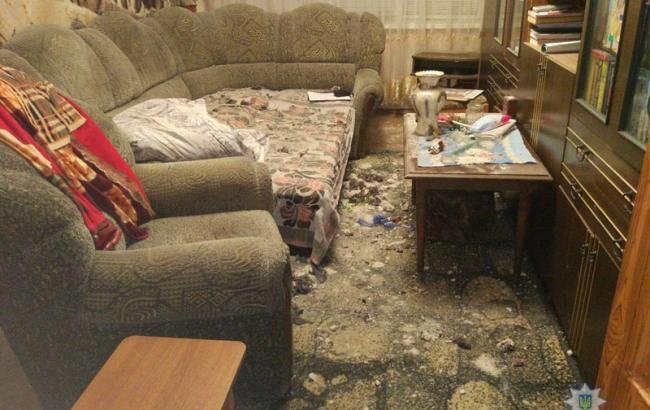 У Донецькій області стався вибух в житловому будинку, є постраждалий