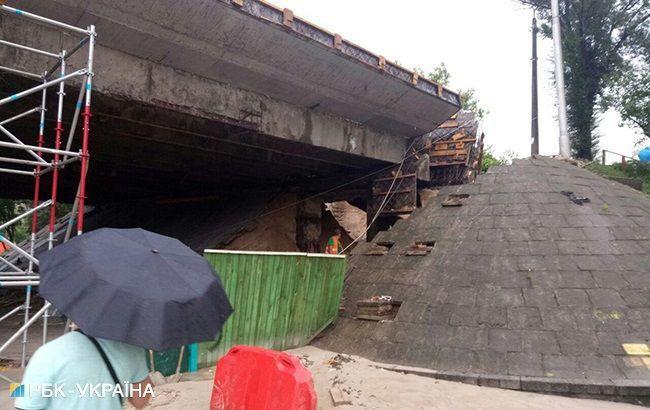 Путепровод в Подольском районе Киева откроют 26 июля