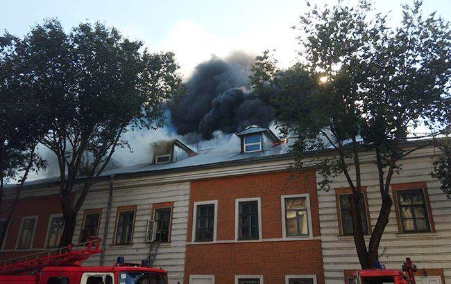 Пожежа в Інженерно-педагогічній академії локалізована