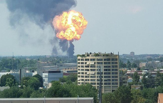 В результаті вибуху в аеропорту Болоньї постраждали 20 осіб