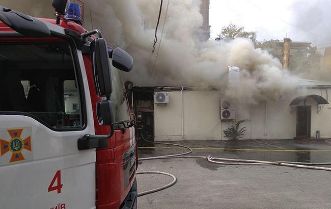 Фото: пожежа у Києві (kyiv.dsns.gov.ua)