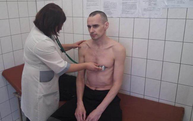 Появилось фото обследования Сенцова в российской больнице