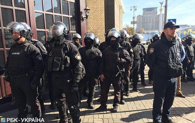 Поліція затримала 122 людини на території Києво-Печерської лаври