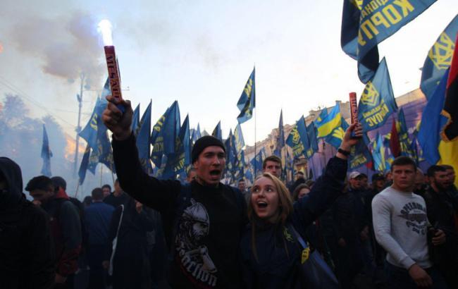 Покров без крови: как правые отметили день УПА и не пошли штурмовать Лавру