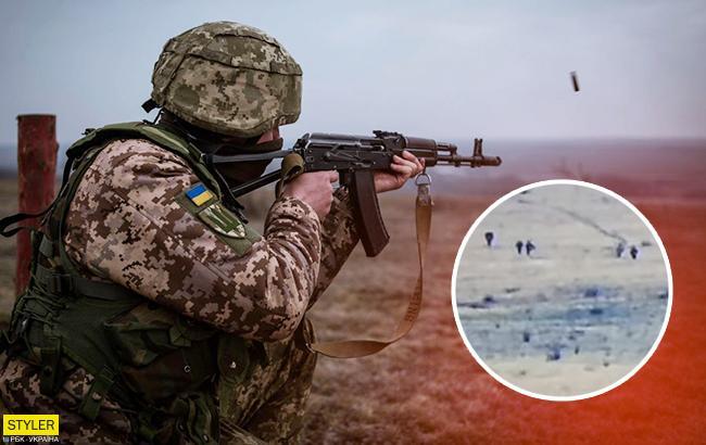 На Светлодарской дуге украинские бойцы уничтожили разведгруппу боевиков