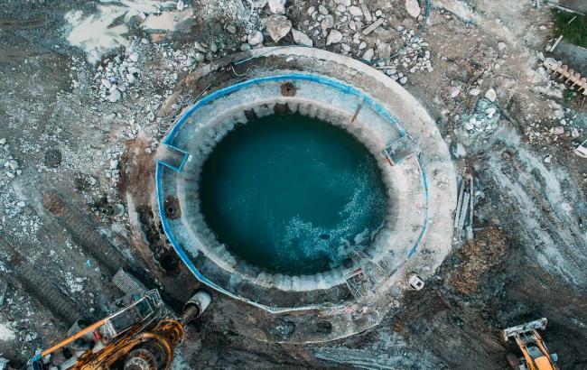 Будівництво метро в Дніпрі з висоти пташиного польоту: яскраві фото
