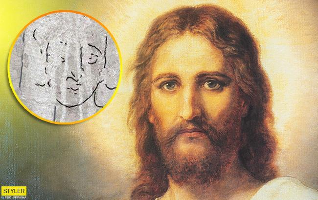 Знайдений незвичайний древній портрет Ісуса Христа